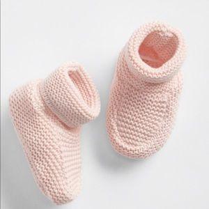GAP Baby Brannan Booties, Milkshake Pink.